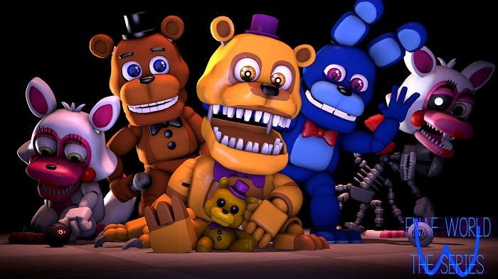 FNaF World: Extras Menu