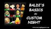 Baldis Basics in Custom Night