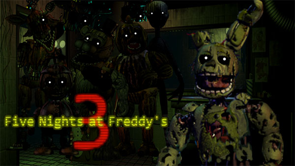 Five Night's at Freddy's 3: Custom Night version Remake